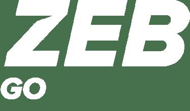 ZEB Go logo white